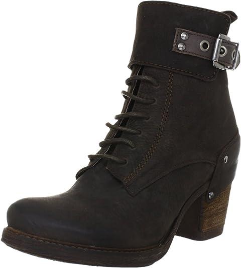Virus Moda 960772 960772 - Botines Fashion de Cuero para Mujer, Color marrón, Talla 36: Amazon.es: Zapatos y complementos