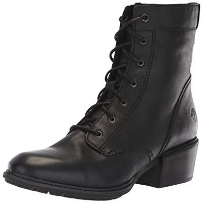Timberland Womens Sutherlin Bay Lace-Up Black Boot - 7.5 M   Ankle & Bootie