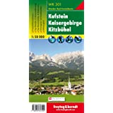 Carte de randonnée : Kufstein, Kaisergebirge, Kitzbühel