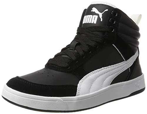 3cb9528160d9 Puma Unisex Adults Rebound Street V2 Hi-Top Trainers  Amazon.co.uk ...