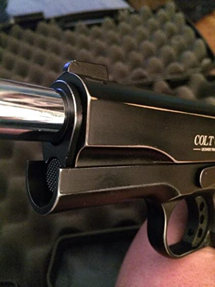 Colt Commander .177 Caliber  Steel BB Air Gun Pistol Quality replica