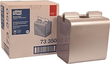 Tork 73350 Image Xpressnap Napkin Dispenser, Aluminum, 8.23
