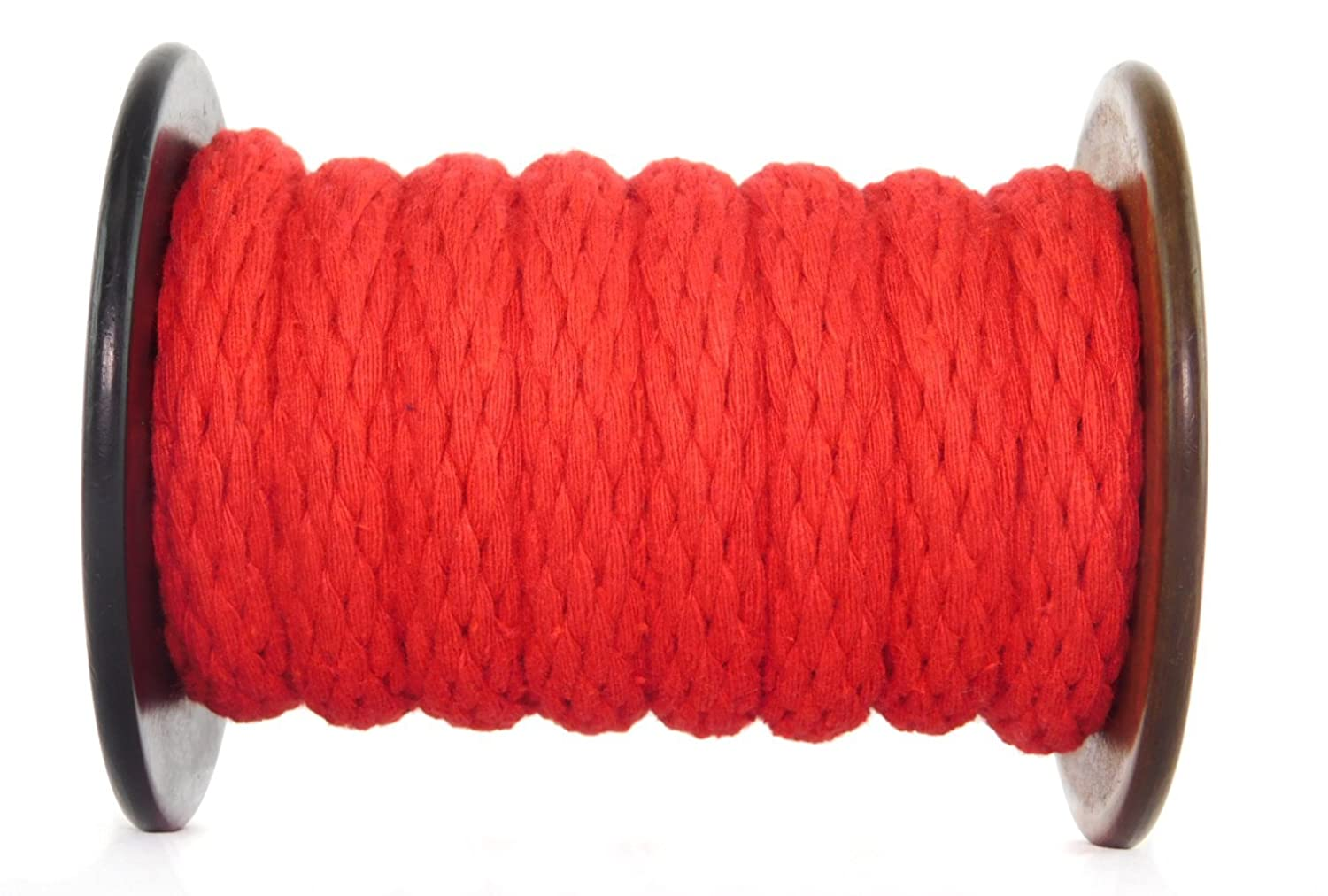 Used as Sash Cord Utility Rope and More Ravenox Solid Braid Cotton Rope Variety of Colors and Lengths Macrame Projects Clothesline Made in The USA