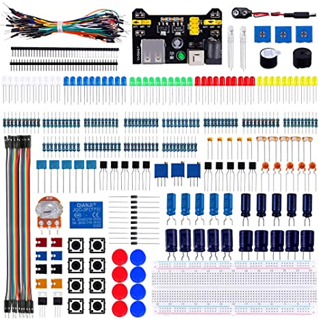 Fabulous Amazon Com Emakefun Electronics Component Fun Kit With Power Supply Wiring Digital Resources Funiwoestevosnl