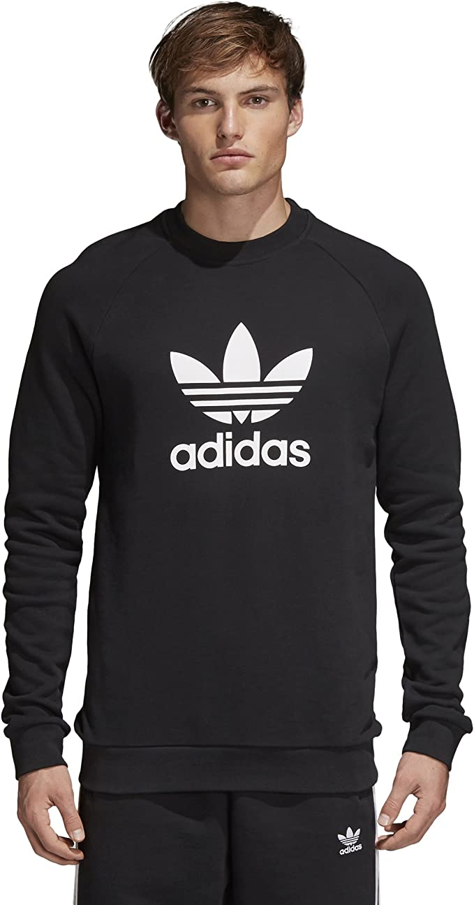adidas Originals Men's Trefoil Warm Up Crew Sweatshirt