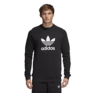 f2bdf20233b0 adidas Originals Men s Originals Trefoil Warm-up Crew at Amazon ...