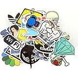 StillCool Pack of 100 Stickers Skateboard Snowboard Vintage Vinyl Sticker Graffiti Laptop Luggage Car Bike Bicycle Decals Mix Lot Fashion Cool