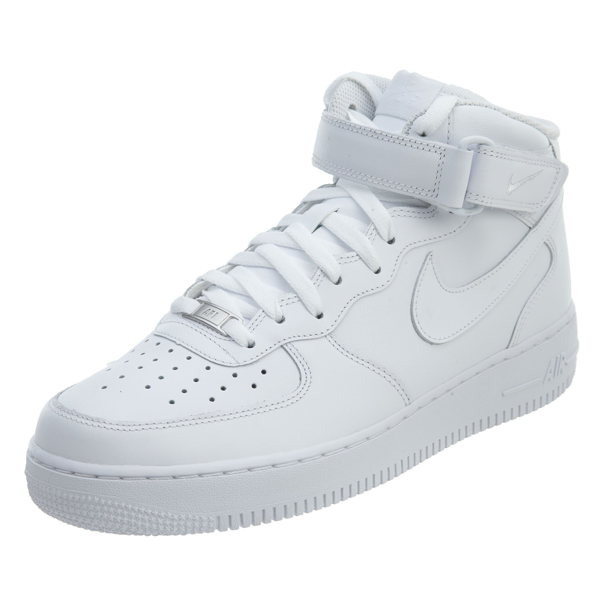 low priced ef6d8 191bb Galleon - Nike Men s Air Force 1 Mid 07 Basketball Sneakers White Size 13 D  (US)