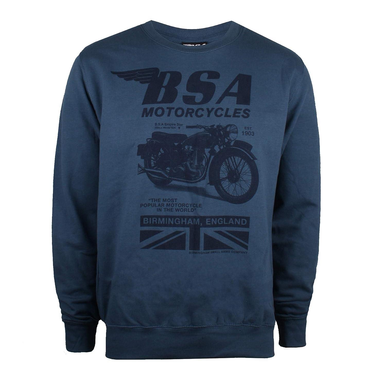 T-Shirt Uomo Tonal Invert BSA Motocycles