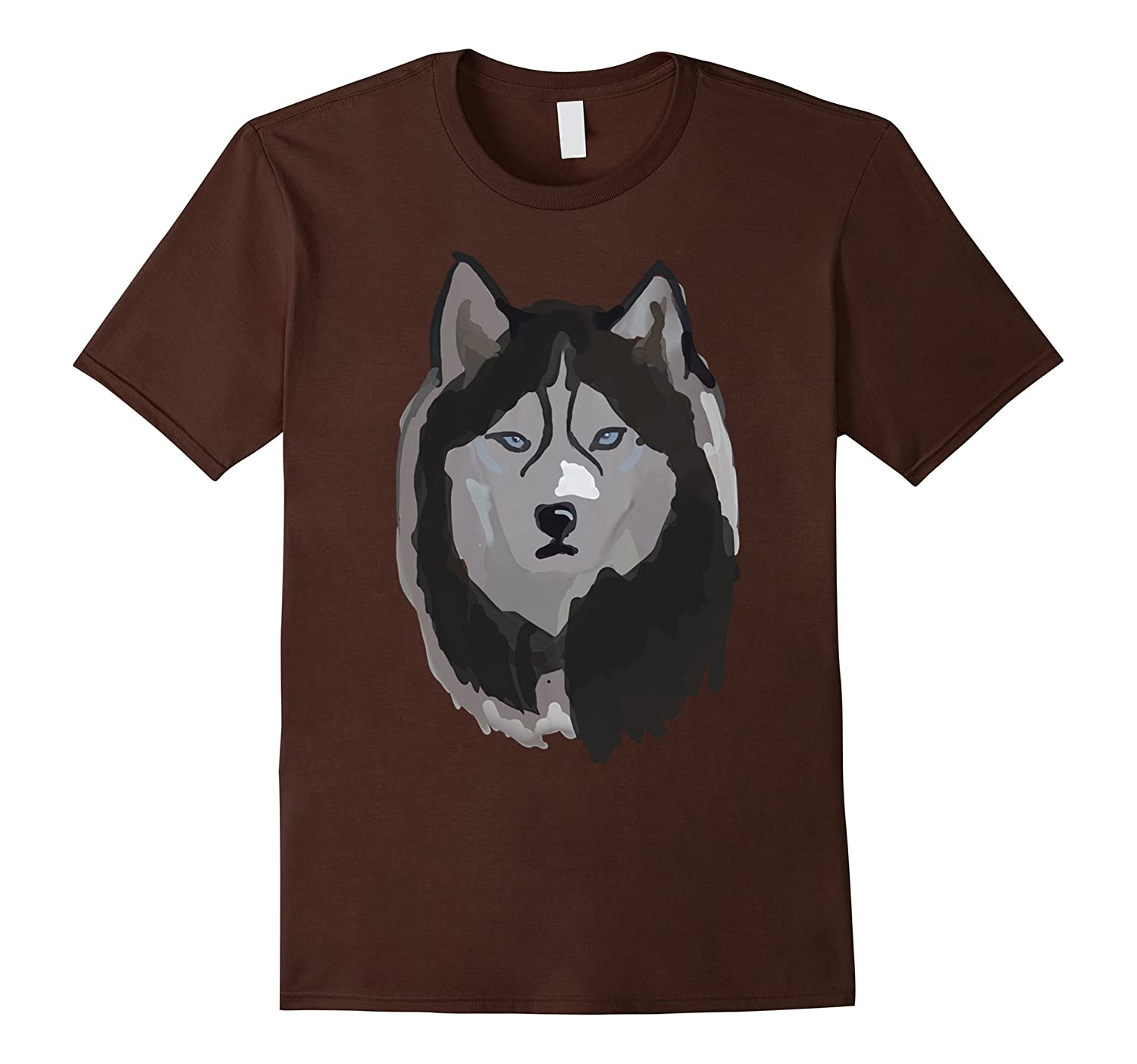 Awesome Artistic Painted Snow Wolf t-shirt - work of art-TH