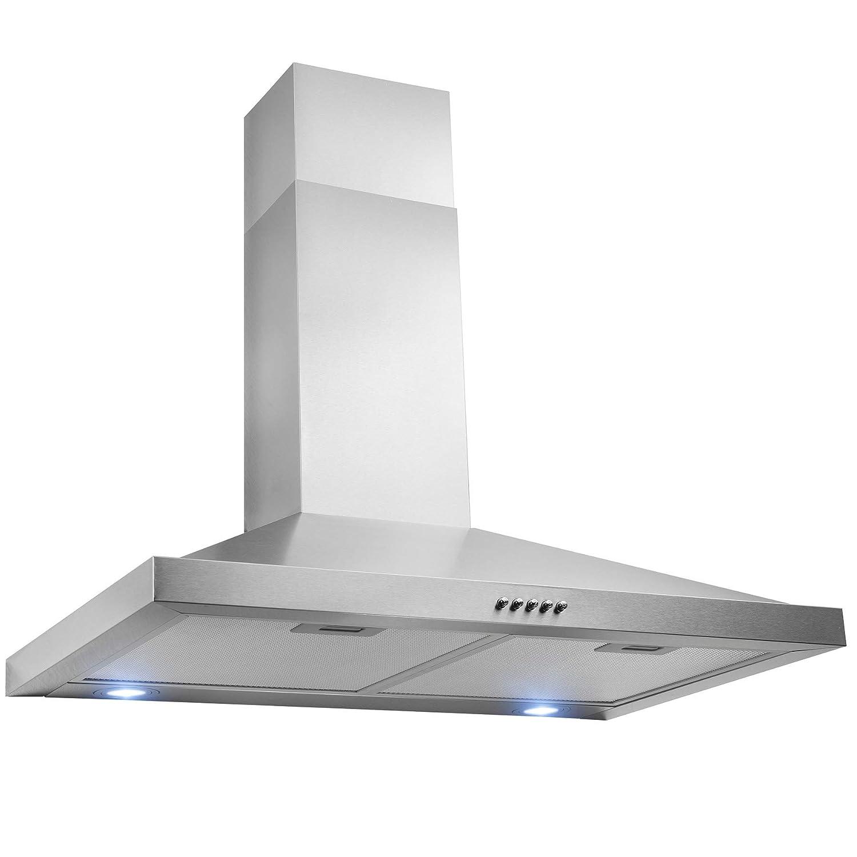 FIREBIRD 30 Wall Mount Stainless Steel Push Panel Kitchen Range Hood Cooking Fan FB-RH0369