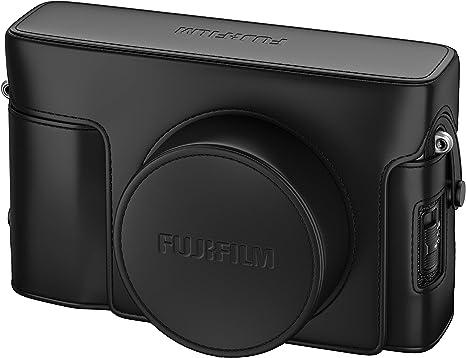 Fujifilm LC-X100V Estuche para cámara fotográfica Negro: Amazon.es: Electrónica