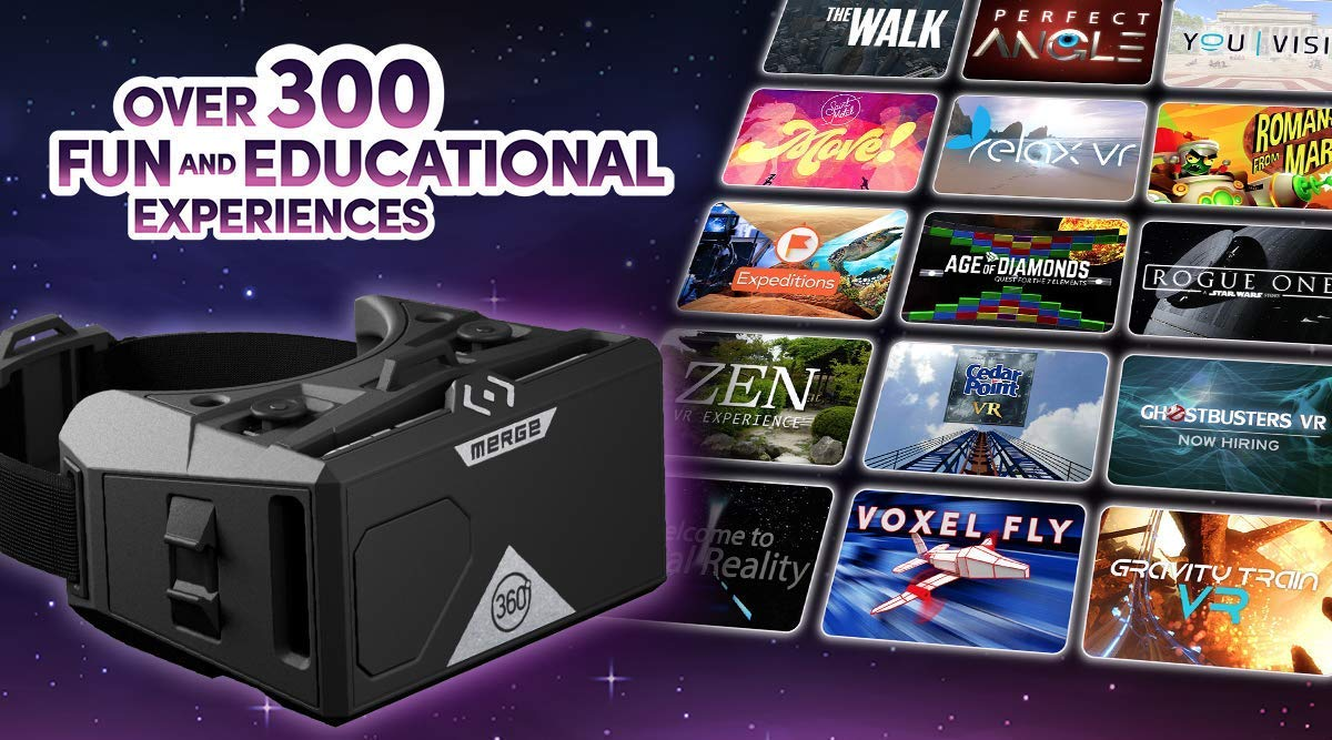 MERGE Cube & Headset Bundle for VR/AR STEM Learning & Mobile Gaming by MERGE (Image #9)