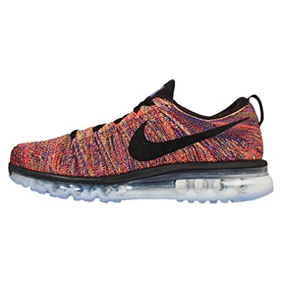 Nike Mens Flyknit Air Max 105 BlackRacer BlueTotal CrimsonBlack