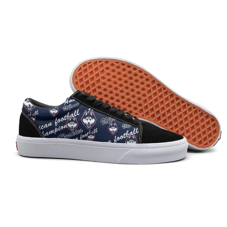 JDWESA Mens Vintage Slip on Tenis Shoes lace up Shoes