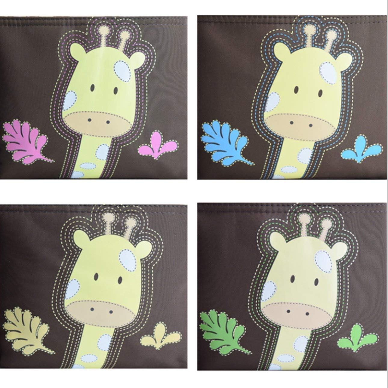 Ballylelly Motif Girafe Sac de Momie Multifonctionnel de Grande capacit/é avec Sac /à Main pour Voyage /à bandouli/ère Produits de Soins pour Enfants