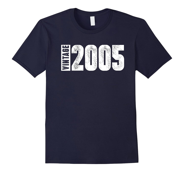 12th Birthday Vintage 2005 Tee Shirt-PL