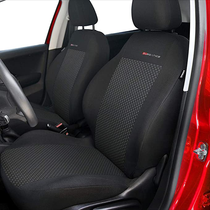 cucito su misura E3 ELEGANCE + Coprisedili bracciolo posteriore - Set coprisedili auto