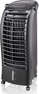 Honeywell 200 CFM Indoor Evaporative Air Cooler (Swamp Cooler) with Remote Control, Black, CS074AEKK