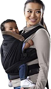 Boppy ComfyChic Hybrid Baby Carrier, 4 Carrying Positions, Charcoal