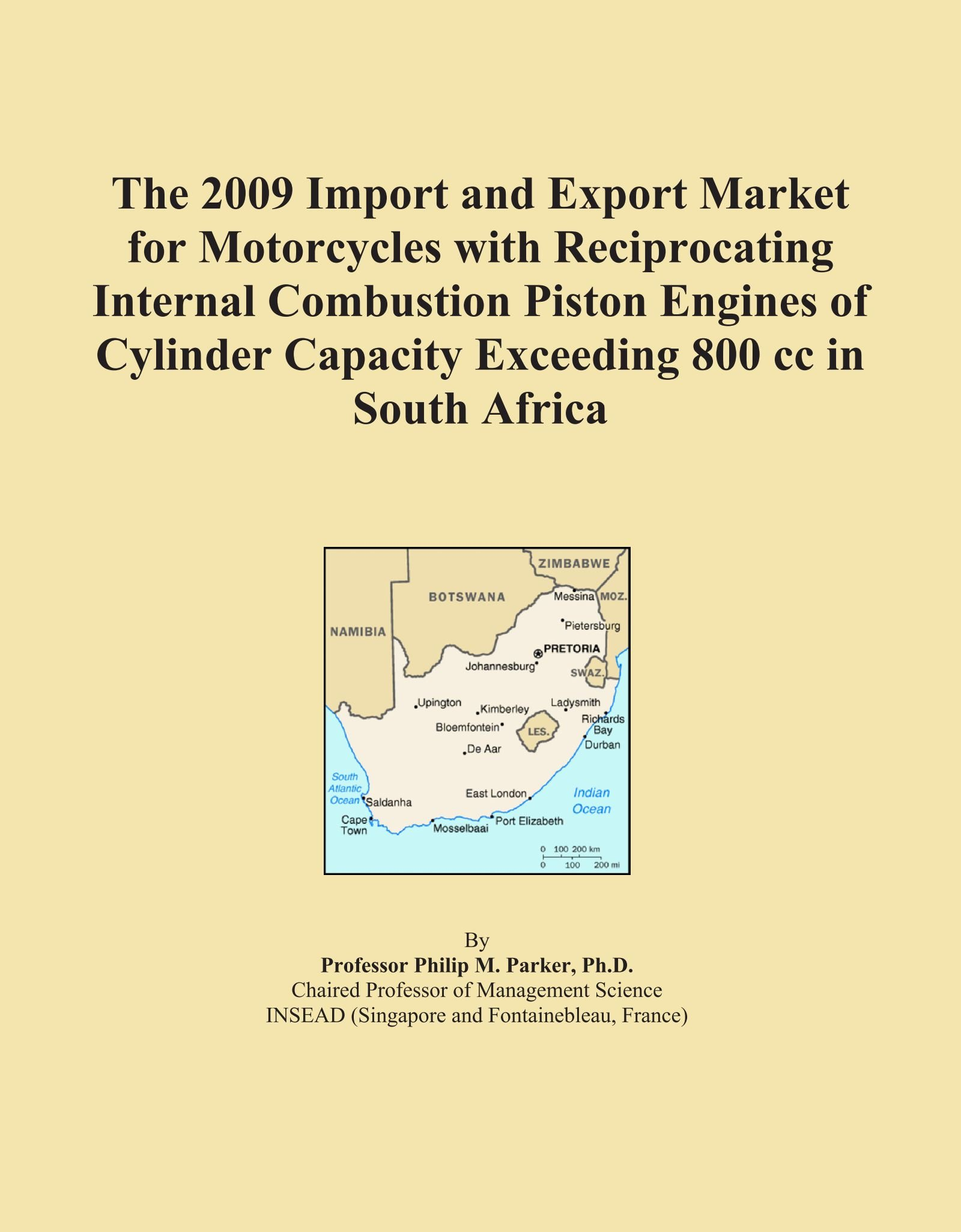 Download The 2009 Import and Export Market for Motorcycles with Reciprocating Internal Combustion Piston Engines of Cylinder Capacity Exceeding 800 cc in South Africa pdf epub