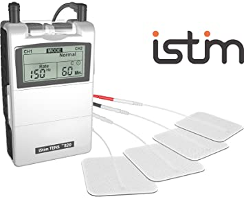 FDA Cleared TENS Unit iStim EV-820 TENS Machine for Pain Management, Back Pain and Rehabilitation