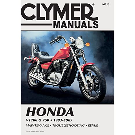 amazon com clymer repair manual m313 automotive rh amazon com Honda Shadow Aero 750 Honda Shadow 750 Bobber
