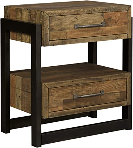Ashley Furniture Signature Design – Sommerford Nightstand – Brown