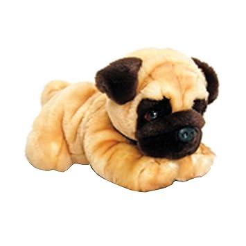Keel Toys Pug Dog Plush Toy (One Size) (Tan)
