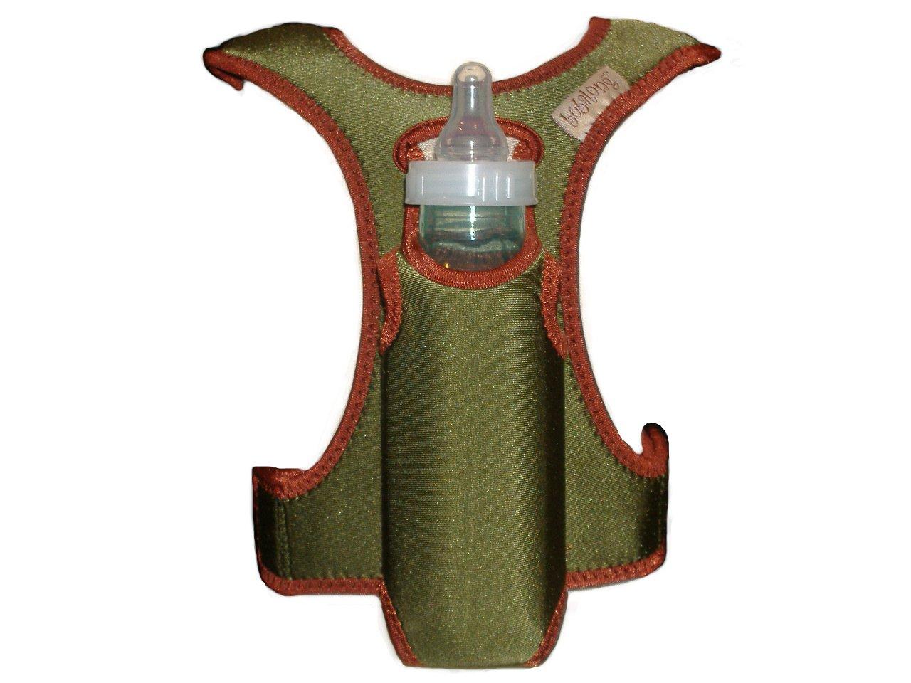 bobalong Bottle Holder, Olive/Rust
