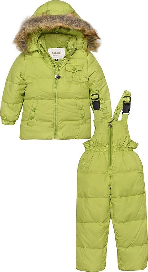 c606494c6c8d ZOEREA Unisex Tuta da sci per bambino Piumino Bambino Invernale Giacca  Bambina Snowsuit Snowboard Piumino leggero