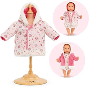 """Corolle - Enchanted Winter Reversible Coat - Clothing Accessory for 14"""" Baby Dolls"""
