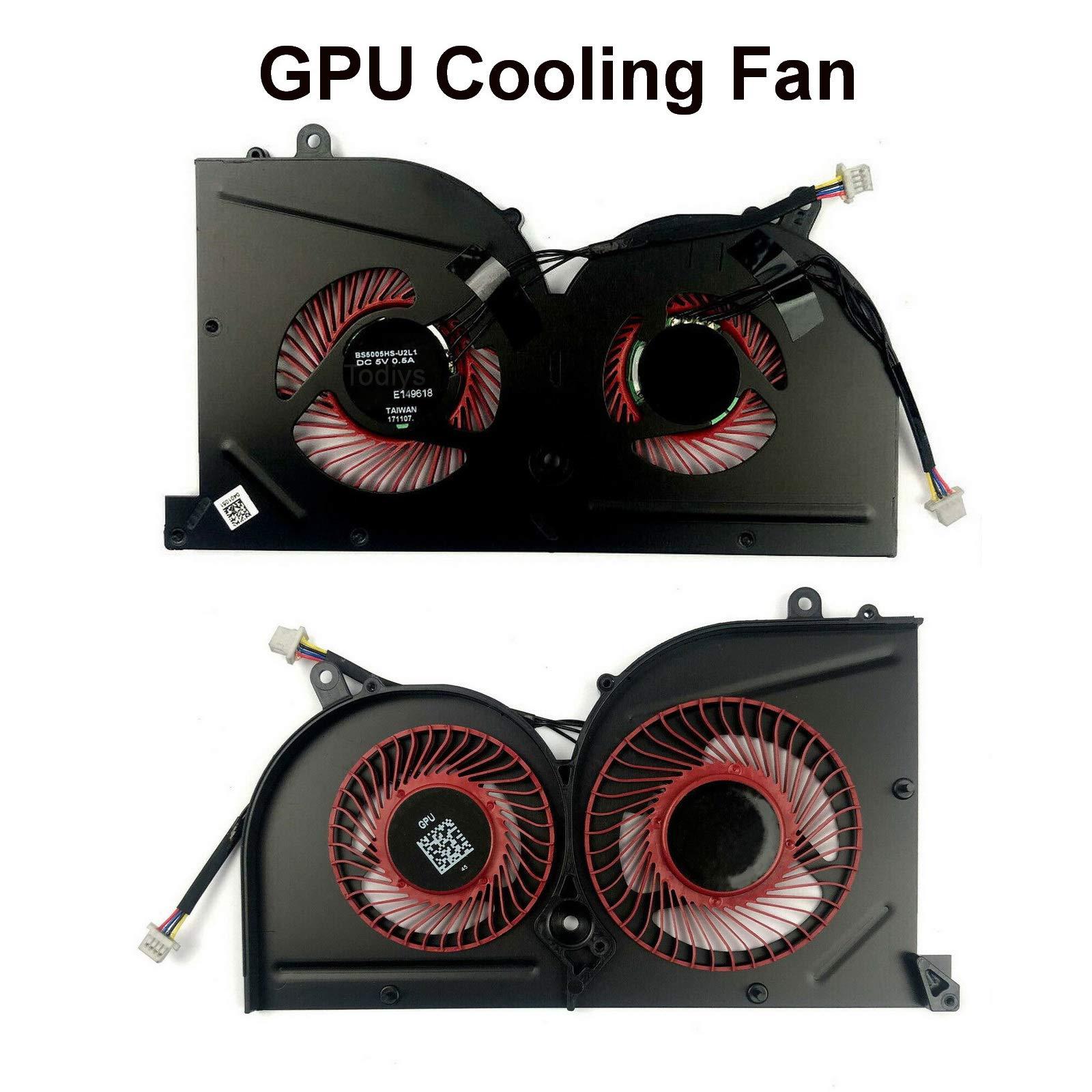 Ventilador GPU MSI MS-16K MS-17B Series MS-16K2 MS-16K3 MS-16K4
