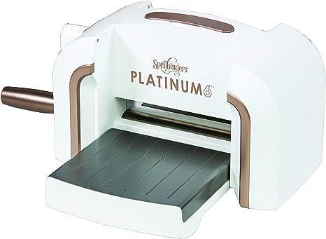 Spellbinders PE 100 Platinum 6.0 Die Cutting Embossing Machine Leather Wool Etc