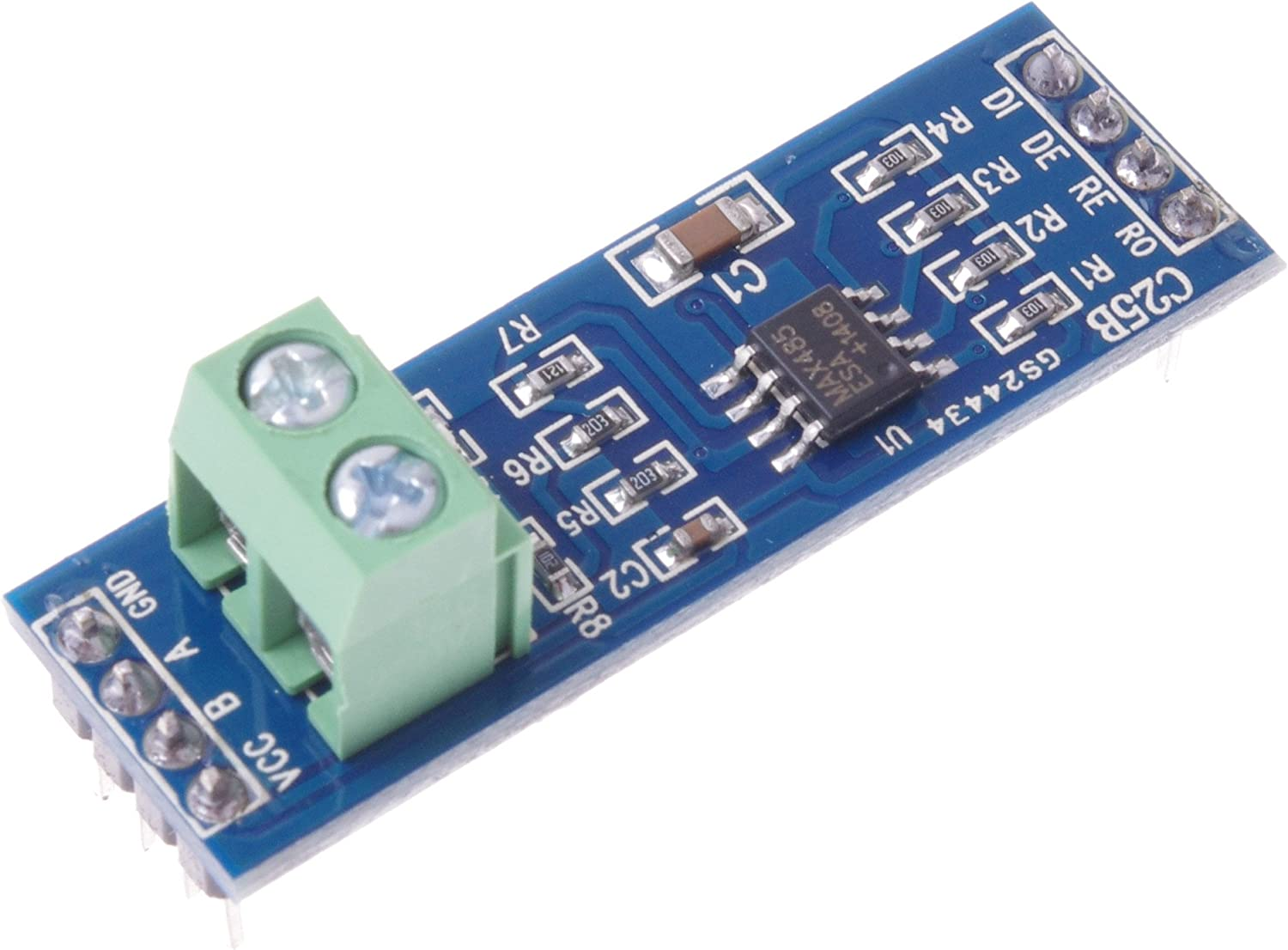 HUIMAI MAX485 Module RS-485 TTL to RS485 MAX485CSA Converter Module For Arduino Integrated Circuits Products