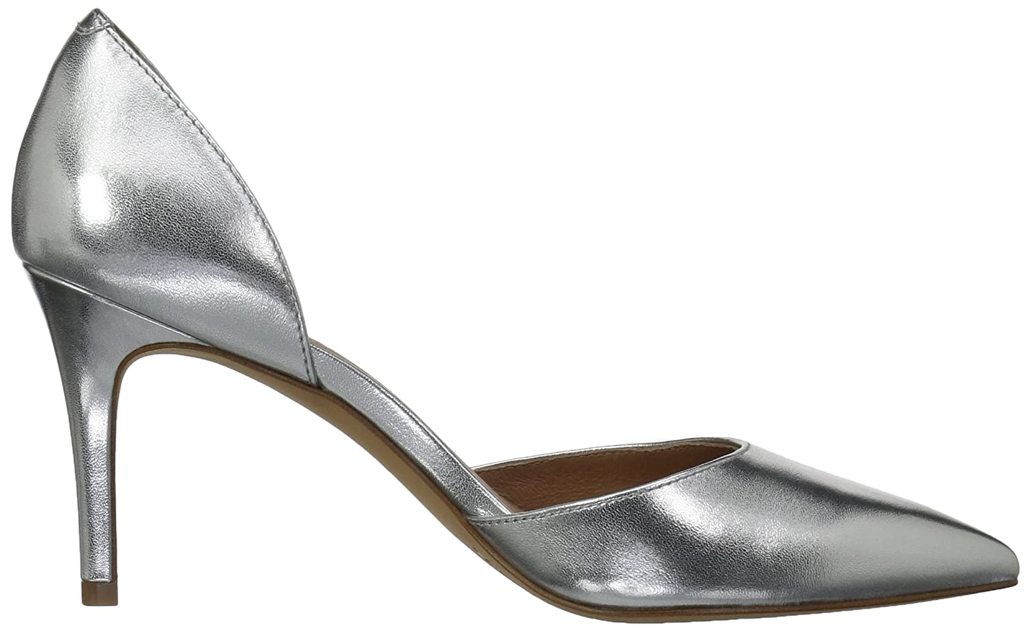 206 Collective Women's Adelaide D'Orsay Dress Pump B0789FP5ZN 6 B(M) US|Silver Leather