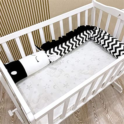 Amazon.com: Alapaste Baby Crib Bumper Breathable Infant ...