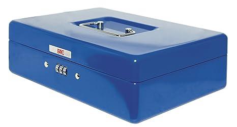 FAC 17046 - Caja de caudales con combinación, número 3, color azul