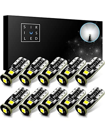 SiriusLED Extremely Bright 3030 Chipset LED Bulbs for Car Interior Dome Map Door Courtesy License Plate
