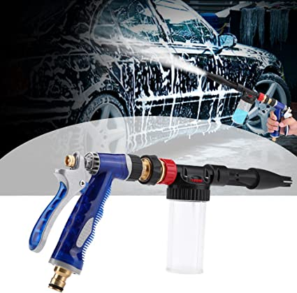 1# Aramox Car Washer High Pressure Foamer Water Gun Powerful Washer Spray Nozzle Cleaning Tool for Home Yard Garden