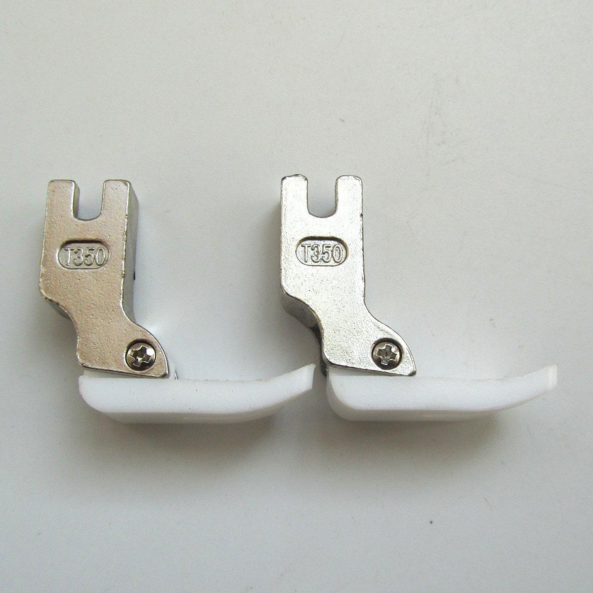 CKPSMS Marca - Industrial máquina de coser estándar de teflón Pie Prensatelas # T350 (2piezas): Amazon.es: Hogar