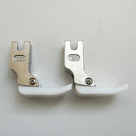 kunpeng Industrial máquina de coser estándar de teflón Pie Prensatelas # T350 (2pcs)