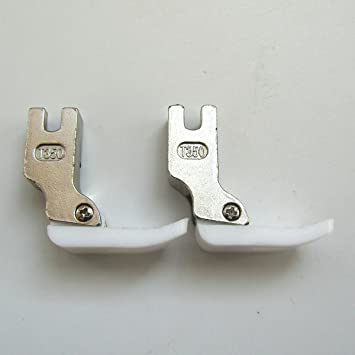 kunpeng Industrial máquina de coser estándar de teflón Pie Prensatelas # T350 (2pcs): Amazon.es: Juguetes y juegos