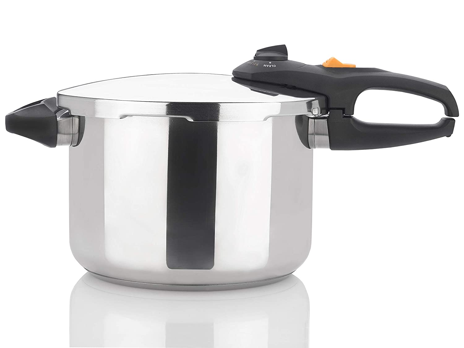 Zavor DUO 8.4 Quart Multi-Setting Pressure Cooker and Canner with Accessories - Polished Stainless Steel (ZCWDU03)
