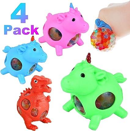 Stretch Mini Dinosaurs Boys Girls Birthday Party Bag Fillers Squishy Fidget Toy