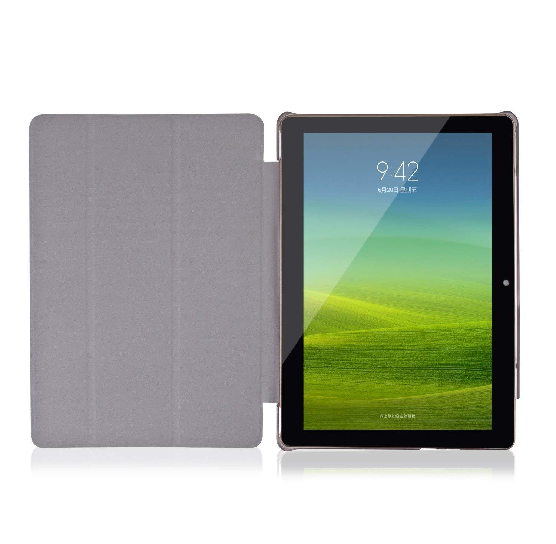 YOTOPT Funda para Tablet 10.1 / BEISTA 10 Pulgadas/Kivors 10.1/Excelvan F888/Excelvan M10K6/LNMBBS 3G 10.1/QIMAOO 10.1, Negro