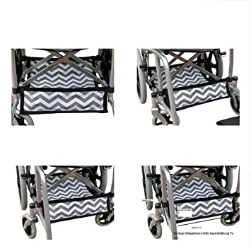 Amazon.com: Mochila plegable para silla de ruedas debajo del ...