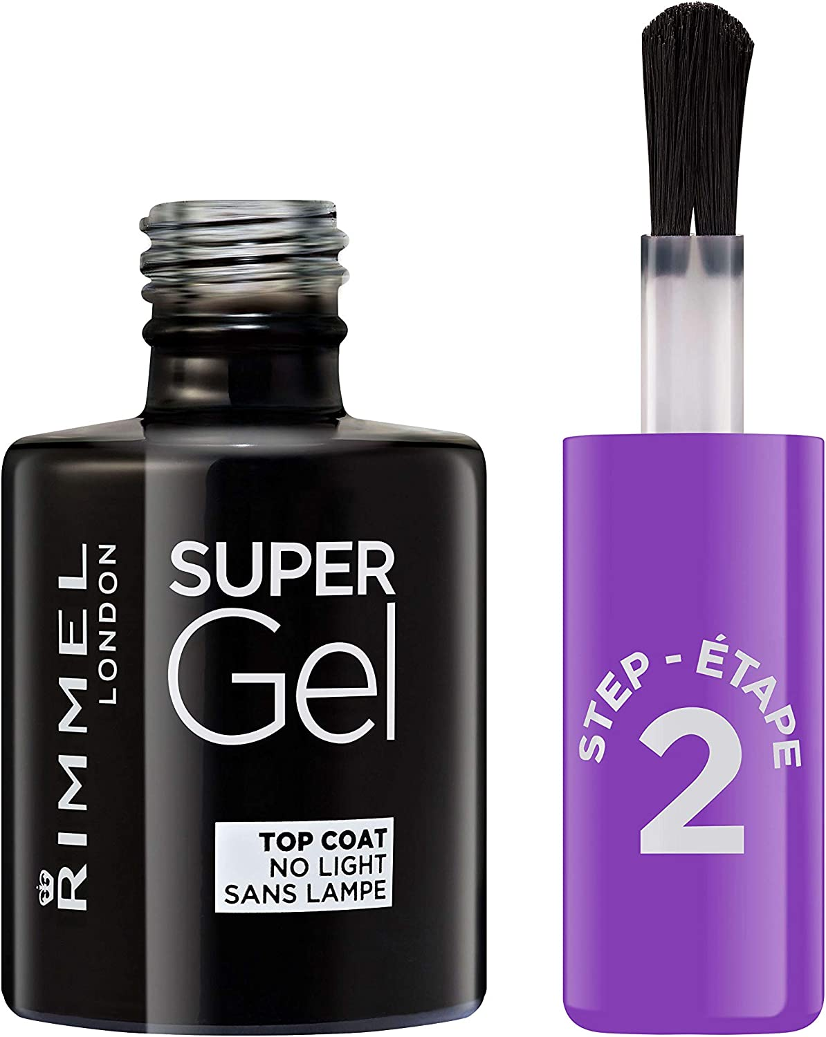 Rimmel London Super Gel Top Coat Tono Top Coat, 12 ml