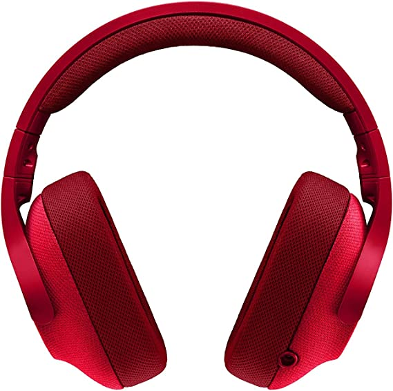Logitech 981-000650 - Renewed G433 Wired 7.1 Gaming Headset Red