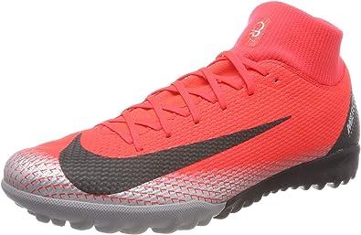 Rebaja después del colegio perdonar  Amazon.com | Nike Mercurial Superfly 6 Academy CR7 TF- Turf Soccer Shoes  (10) Red | Soccer